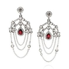 Dress up your Valentine's outfit with Ethereal Chandelier Statement Earrings from Chloe + Isabel!
