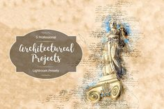 Architectural Projects Lr Presets by FaeryDesign on Professional Lightroom Presets, Creative Sketches, Paint Markers, Pencil Illustration, Business Card Logo, Watercolor And Ink, Free Design, Fonts, Stationery