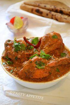 Kohlapuri Chicken / Easy step by step recipe: | Tasty Appetite