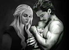 "I'm not a fan of ""Jonerys"", but this is a beautiful piece of artwork"
