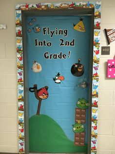 Angry Birds Back To School My Pre K Bulletin Boards