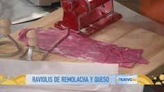 Receta de cocina: el Chef James cocina raviolis de remolacha (VIDEO)
