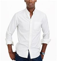 J. Crew - Vintage Oxford Shirt:  The white washed cotton is soft and comfortable – perfect for easy days relaxing with the family.