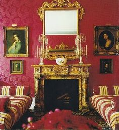 carolina herrera living room - interior decor