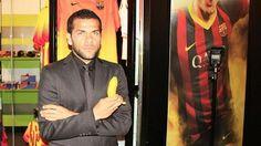 Daniel Alves Bbc, Soccer News, Football Soccer, A Level Spanish, Daniel Alves, Police, Banana, Uk News, Video