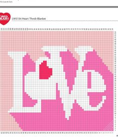Love graphgan pattern