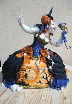 Un gâteau Hocus pocus pour halloween :o