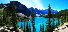 Do you like blue, natural blue? No photoshop. picture from 31 Aug 2013 - Lake Moraine, Banff Canada by Scutu Photography Banff Canada, Moraine Lake, No Photoshop, Our World, Beautiful World, This Is Us, Earth, Mountains, Architecture