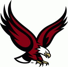 Boston College Eagles Alternate Logo (2001) - Flying Eagle. Almost like out eagle logo but different colors.