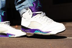 Air Jordan Grape 5 trying to get these in black!
