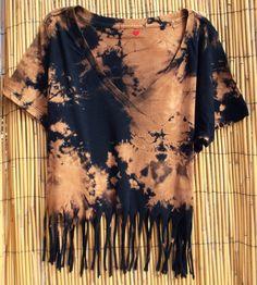crop top tie dye fashion
