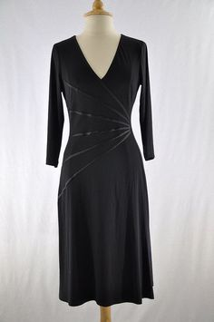 Dress Barn Black Classic Dress #MeandMyCloset
