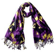 Purple & Gold Maryland Flag / Scarf #Baltimore #bulk-hide #Maryland