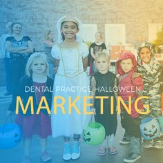 Don't miss out on these Halloween marketing ideas for your dental practice. Embrace the sugar and use Halloween to your advantage. Halloween This Year, Oral Health, Cavities, Mindful, Dental, Best Friends, Sugar, Candy, Costumes