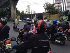 Come on!  Blue Light GO! GO! Bangkok Street is Fun!!