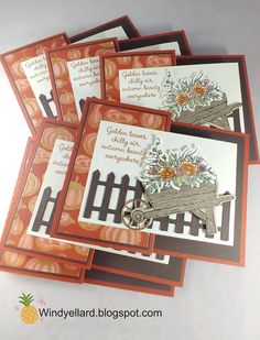 Windy's Wonderful Creations: Autumn Goodness Special Fold