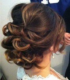 Low+Loose+Curly+Updo+for+Medium+Hair