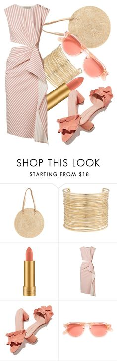 """#392"" by endyrinch ❤ liked on Polyvore featuring BP., Eloquii, MAC Cosmetics, Jason Wu, Loeffler Randall and Garrett Leight"