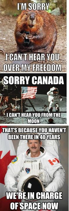 Oh Canada Snap! - This Americana is best enjoyed over a breakfast of bacon with eggs cooked on the hot barrel of a gun you bought with a coupon. Canadian Memes, Canadian Things, Canadian History, Canadian Humour, American History, Canada Funny, Canada Eh, Canada Jokes, Meanwhile In Canada
