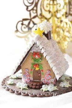 ヘクセンハウス&型抜き用のクッキー生地