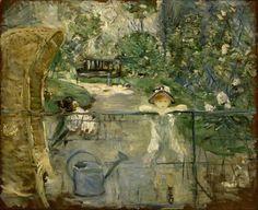 le-desir-de-charcot:  Berthe Morisot (French, 1841-1895), The Basket Chair, 1882. Oil on canvas