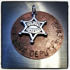 i love my deputy sheriff by mkraftsbymarie on Etsy, $20.00