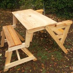 Folding Picnic Table Bench Plans - 11 Folding Picnic Table Bench Plans , How to Build A Pact Folding Picnic Table Folding Picnic Table Plans, Octagon Picnic Table, Build A Picnic Table, Garden Bench Plans, Wooden Picnic Tables, Outdoor Tables And Chairs, Wood Patio Furniture, Diy Outdoor Furniture, Woodworking Furniture Plans