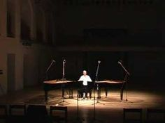 Unique performance of Steve Reich's Piano Phase - 1 musician on 2 pianos
