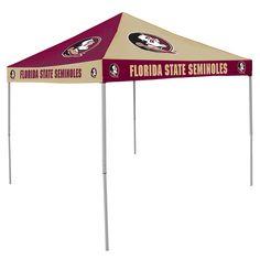 Florida State Seminoles 9u0027 x 9u0027 Checkerboard Tailgate Canopy Tent  sc 1 st  Pinterest & Florida State Seminoles 9u0027 x 9u0027 Checkerboard Color Pop-Up Tailgate ...