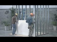 Steel Frame, Building A House, Youtube, Crafts, Steel Structure, Log Home, Large Sheds, Cement, Manualidades