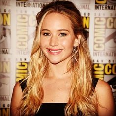 """""""Jennifer Lawrence has become a real superhero for kids at a children's hospital"""" Read more on Examiner at: http://www.examiner.com/article/jennifer-lawrence-has-become-a-real-superhero-for-kids-at-a-children-s-hospital"""