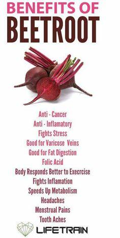 Benefits of beetroot