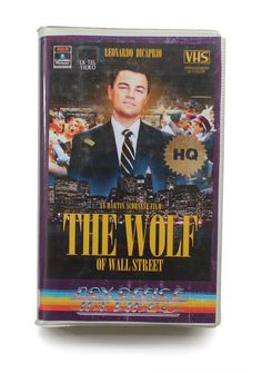 The Wolf Of Wall Street. | VHS Cover Art For Modern TV Shows And Movies