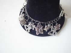 Butterfly bracelet by Carolyn's Wardrobe.