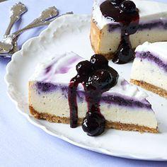 Blueberry Cheesecake | MyRecipes.com