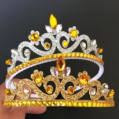 The Beauty And The Beast CrownBirthday CrownBelle themeBell