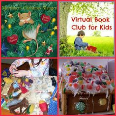Crafty Moms Share: Virtual Book Club for Kids: Mortimer's Christmas Manger
