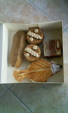 From Patisserie Yvard, Cherbourg