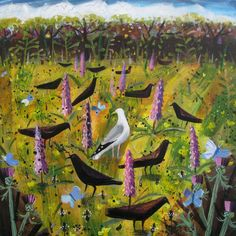 Mary Sumner, Orchids and Crows Dawlish
