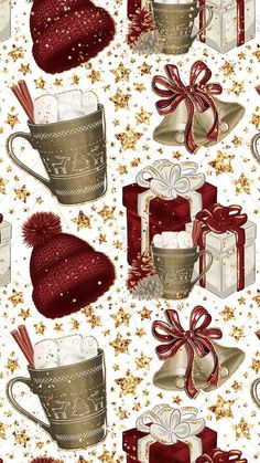 wallpaper backgrounds xmas new ideasHoliday wallpaper backgrounds xmas new ideas Believe in the Magic of Christmas! Holiday wallpaper backgrounds xmas new ideas The Gift of a Christmas Scent (Homemade Holiday Potpourri…GIVEAWAY) Wallpaper Natal, Winter Wallpaper, Holiday Wallpaper, Christmas Paper, Winter Christmas, Christmas Holidays, Christmas Crafts, Christmas Decorations, Cute Wallpapers