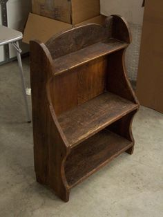 18th Century Bucket Bench