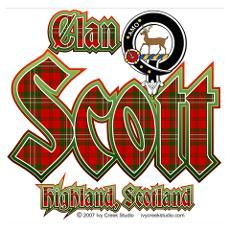 Clan Scott Highland Scottish!~