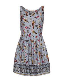 Iska: Light Blue Bird Print Dress by Iska on #zulilyUK today!