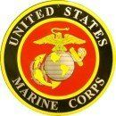 United States Marine Corps Sign by CIRCLE SIGNS. $11.98. This is a metal sign that is made of aluminum and is 12 inches in size. Great item to mount on the wall of your room, office or garage.