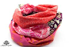 Loop pink von #Lieblingsmanufaktur: Farbenfrohe Loop Schals, Tücher und mehr auf DaWanda.com