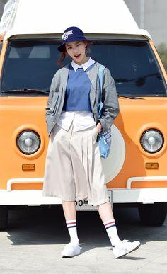 Street style: Lee A Rim shot by Baek Seung Won at Seoul Fashion Week Fall 2015