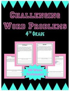 08bda8229d81cac5385f94fc835fe0a1  Th Grade Multi Step Addition And Subtraction Word Problems on