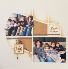 2 Photos, Zurich, Layout, Ink Stamps, Page Layout, Exercise, Template