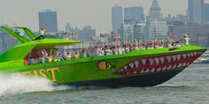 BEAST Speedboat Ride - Got thrill-seekers in the family? If so, then this is the thing to do for them. You and your family will love a jaunt aboard the Beast Speedboat Ride, the fastest cruise in NYC. Everyone raves about this high-speed sightseeing cruise, which zips you around the New York Harbor and the Hudson River in record time.
