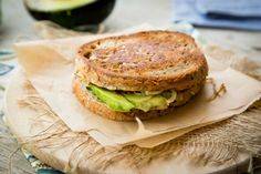 Avocado Pumpkin Panini With Caramelized Onions [Vegan, Gluten-Free] | One Green Planet